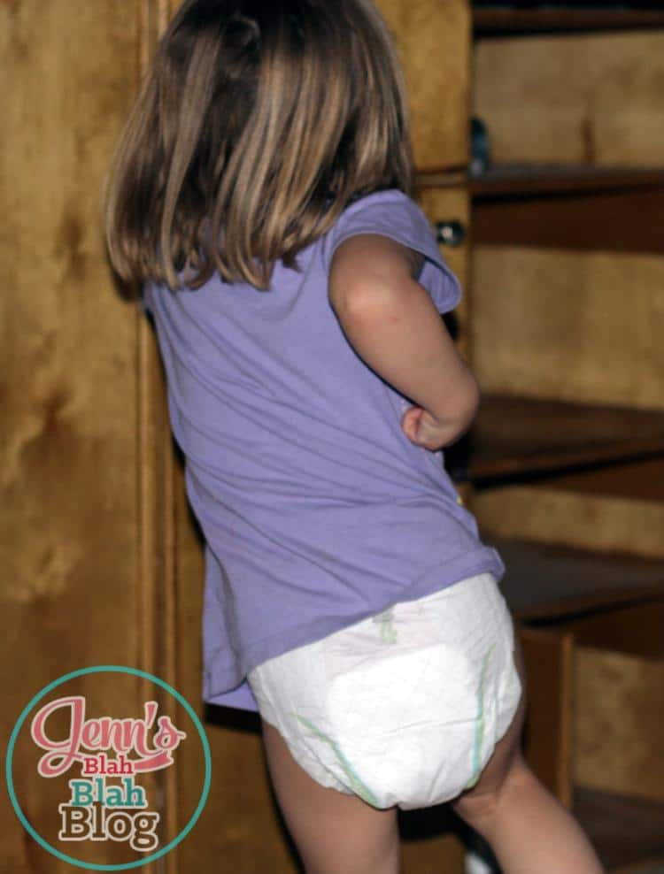 Toddler Girl Diaper.