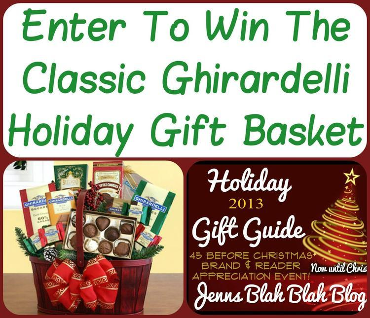 #Giveaways: #Win a Classic Chirardelli Holiday Gift Basket ...