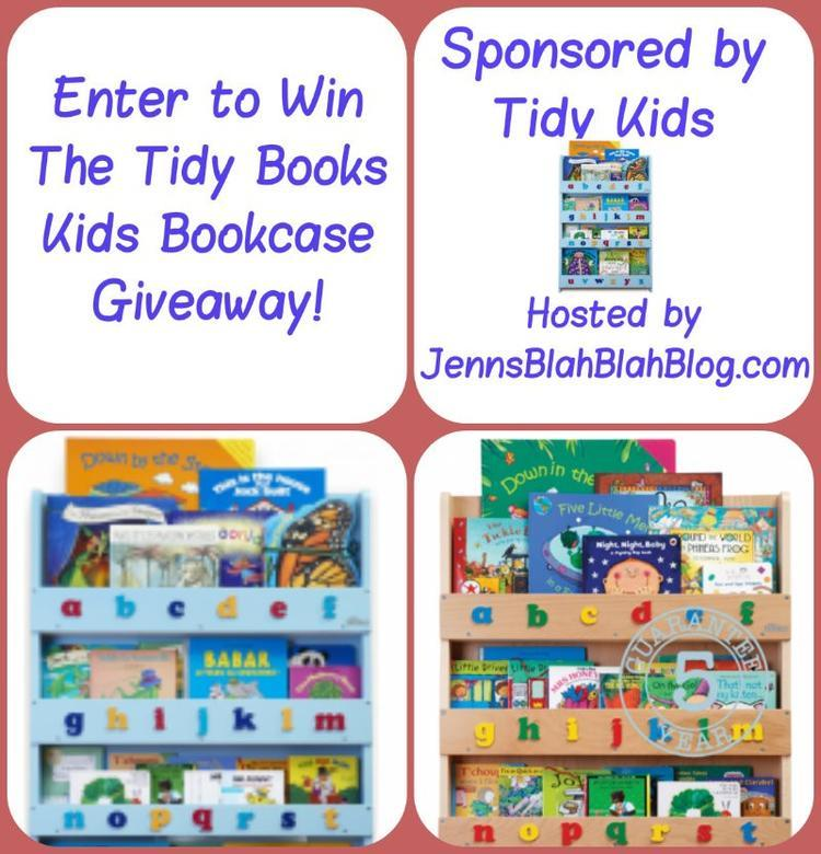 kids bookcase giveaway