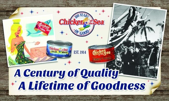 "Chicken of the Sea Knows How To Celebrate ""100 Years of Good""! #100YearsOfGood"