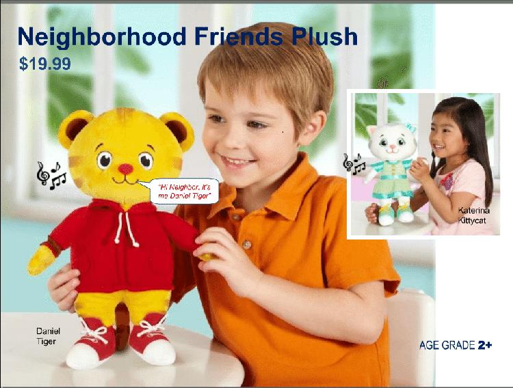 neighborhood friends plush toy
