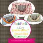 #Giveaway: Enter To #Win journeyBee™ Travel Bed