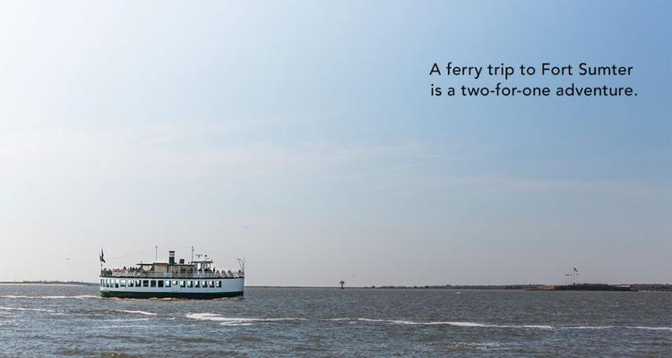 single Ferry 1200x641 1160x619 Things To Do In Charleston | FIJI Waters Earths Finest City Guide