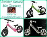 #Giveaway: Enter To #Win A Strrider Balance Bike #GiftGuide