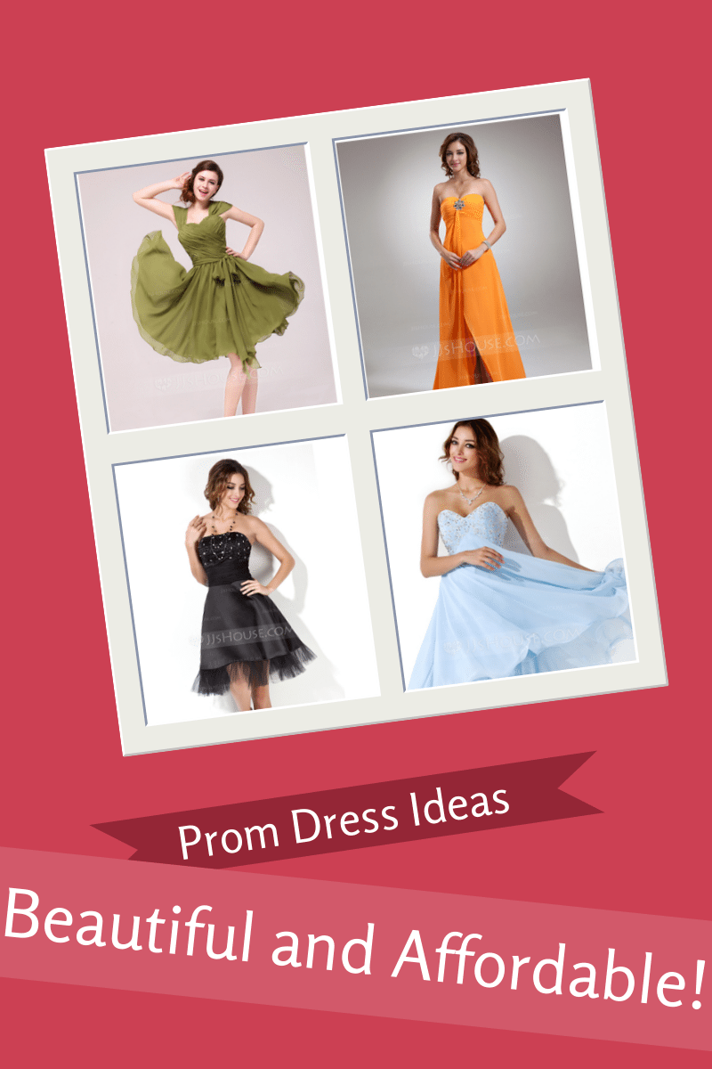 Ten Beautiful & Affordable Prom Dress Ideas For Under $100!
