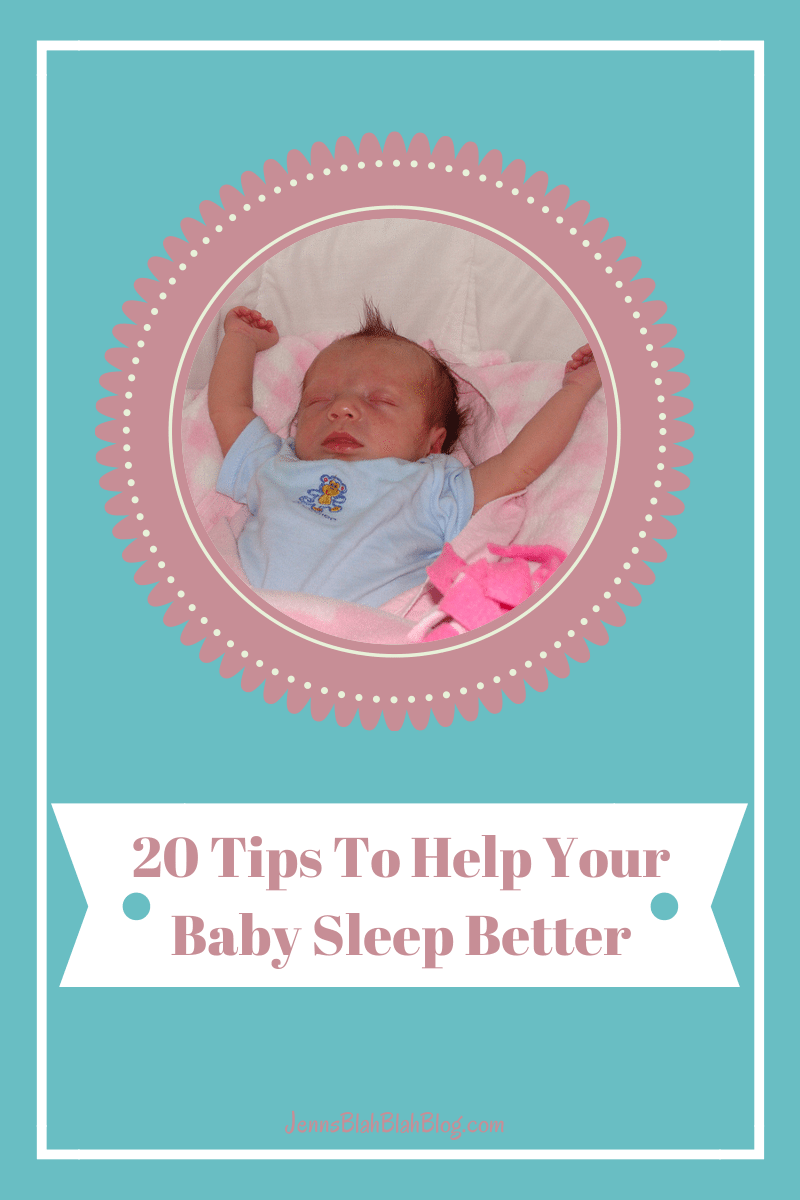 20 Easy Tips To Help Your Baby Sleep Better