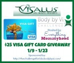 #Giveaway – Enter To #Win a $25 Visa Gift Card