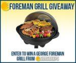Enter to win a George Foreman Grill